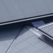 Roof Lines - Montague Island - Australia Poster