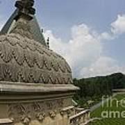 Roof Of Biltmore Estate Poster