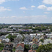 Jamaica Ny Rooftop Panorama Poster