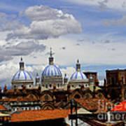 Rooftops Of Cuenca Poster