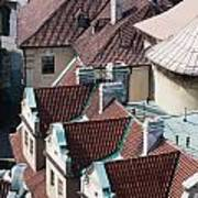 Rooftops Of Prague In Czechia Europe Poster