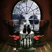 Room Skull Poster