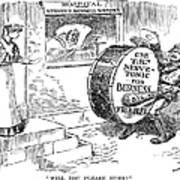 Roosevelt Cartoon, 1908 Poster by Granger