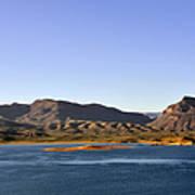 Roosevelt Lake Arizona Poster by Christine Till