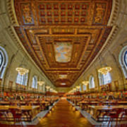 Rose Main Reading Room At The Nypl Poster