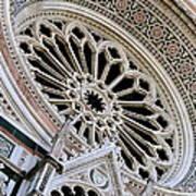 Rose Window Duomo Florence Poster