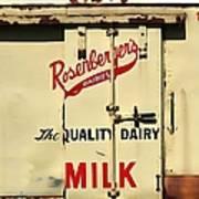 Rosenberger's - Dairy Milk  Poster