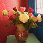 Roses For Sandra Poster