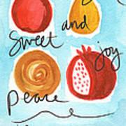 Rosh Hashanah Blessings Poster