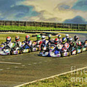 Rotax Challenge Of The Americas Sr. Max Grid Poster
