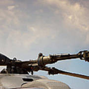 Rotor Navy Helicopter. Poster