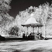 Rotunda Benalla Botanical Gardens Poster