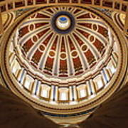 Rotunda Dome On Wings Poster