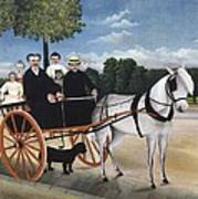 Rousseau, Henri 1844-1910. Old Man Poster by Everett