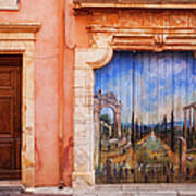Roussillon Door Poster