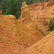 Roussillon Ochres Pigments Rock Poster