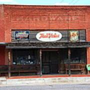 Route 66 - Hardware Store Erick Oklahoma Poster