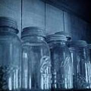 Row Of Jars Poster