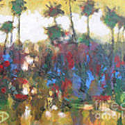 Row Of Palms Poster