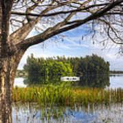 Rowboats At The Lake Poster