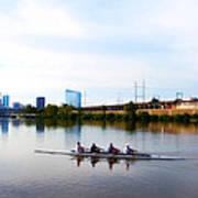 Rowing In Philadelphia Poster
