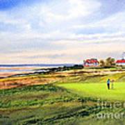 Royal Liverpool Golf Course Hoylake Poster