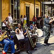 Royal Street Jazz Musicians Poster