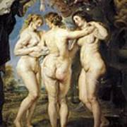 Rubens, Peter Paul 1577-1640. The Three Poster by Everett