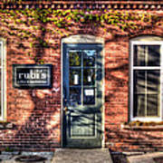 Rubi's Coffee And Sandwiches - Great Barrington Poster