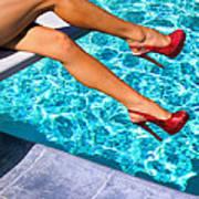 Ruby Heels Not In Kansas Palm Springs Poster