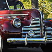 Ruby Red Buick Poster