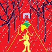 Rue De Pluie Poster by Anita Dale Livaditis