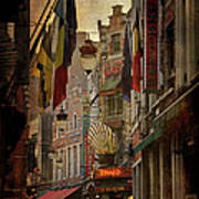 Rue Des Bouchers Poster