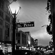 Rue St. Pierre Poster