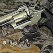 Ruger Security Six Still Life Poster