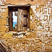 Ruined Wall Poster by Carlos Caetano