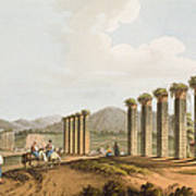 Ruins Of An Aqueduct Near Ephesus, 1810 Poster
