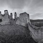 Ruins Of European Medieval Poster