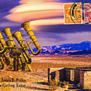 Ruins Of Fort James B. Polka And Prototype Gatling Tubas Poster