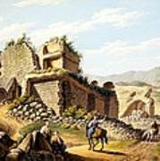 Ruins Of The Stadium, 1790s Poster