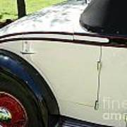 1934 Bruster Rumble Seat Access Poster
