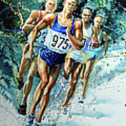 Run For Gold Poster
