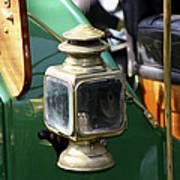 Oil Lamp Running Light Poster