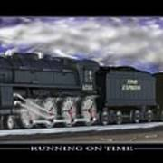 Running On Time Poster by Mike McGlothlen