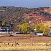 Rural California Ranch Poster