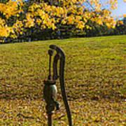 Rural Connecticut Autumn Poster