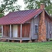 Rural Georgia Cabin Poster