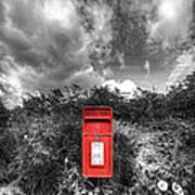 Rural Post Box Poster
