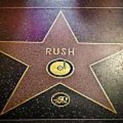 Rush Has A Star Poster