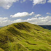 Rushup Edge From Mam Tor Poster